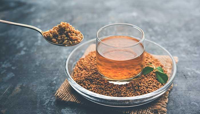 6 health benefits of intaking fenugreek seed soaked water